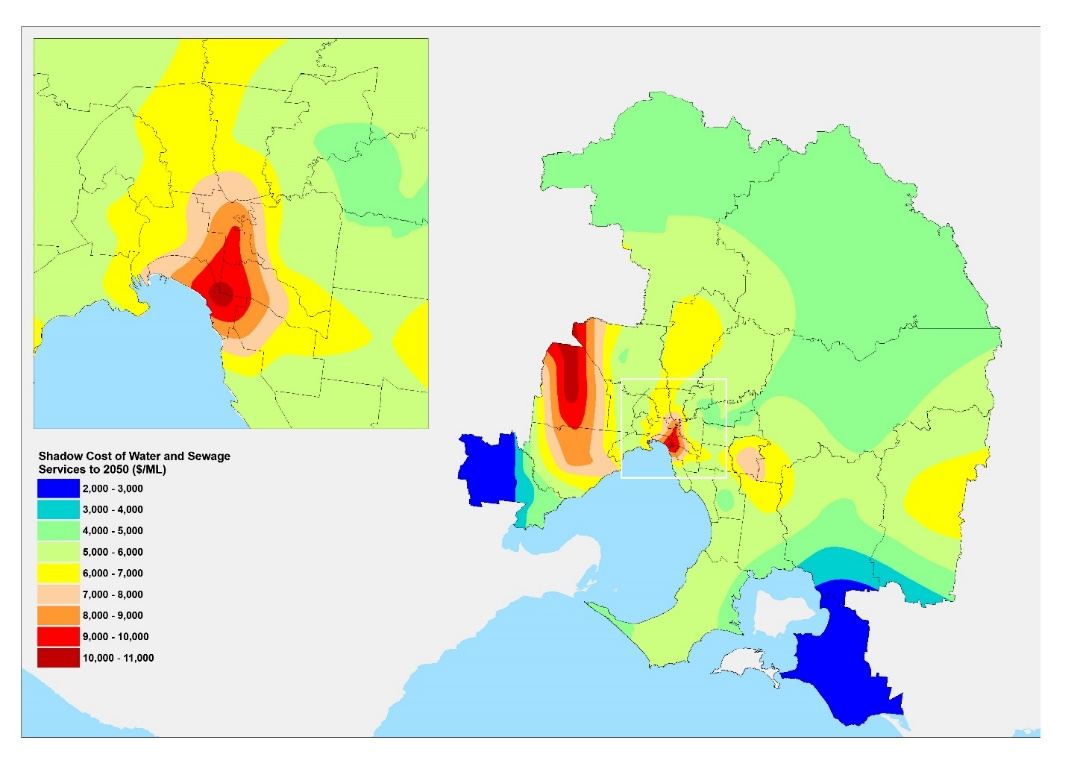 Systems Analysis of Water and Sewage Services, Costs and Prices